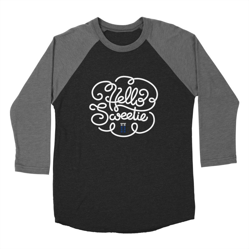 Hello Sweetie Men's Baseball Triblend Longsleeve T-Shirt by AlePresser's Artist Shop