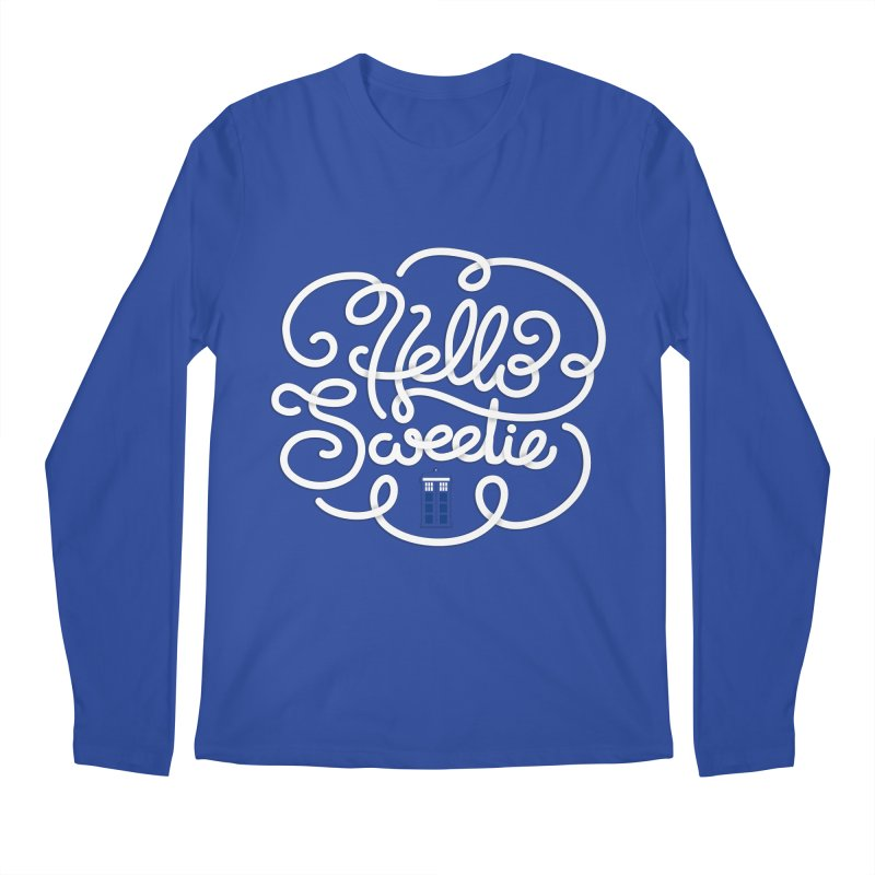 Hello Sweetie Men's Regular Longsleeve T-Shirt by AlePresser's Artist Shop