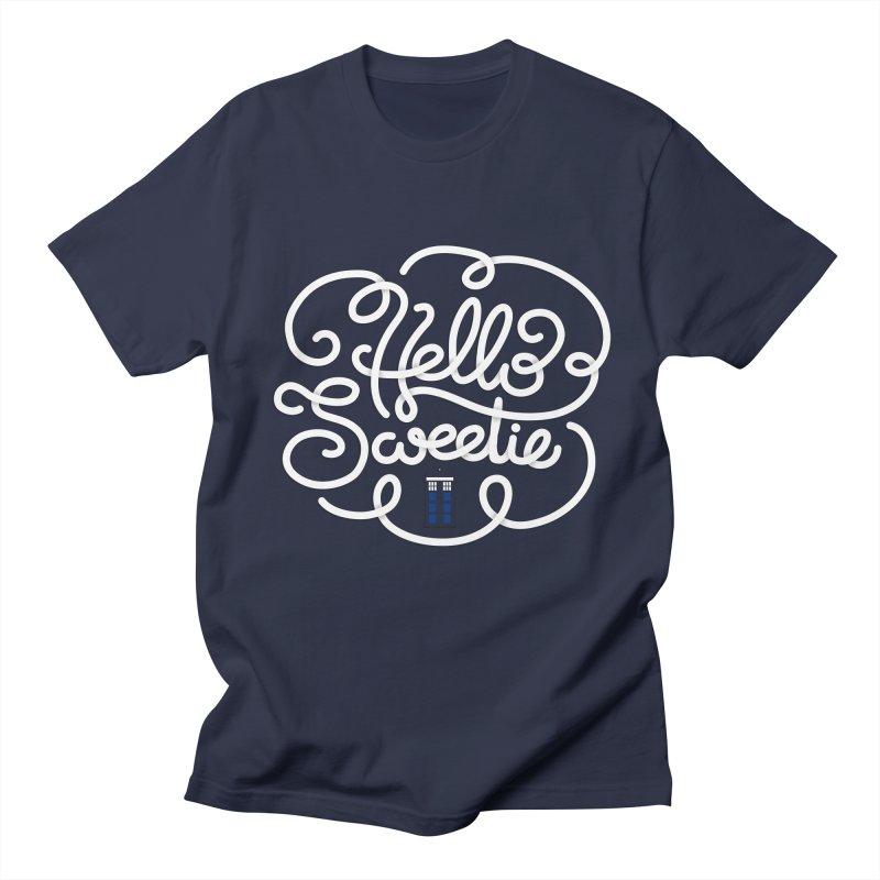 Hello Sweetie Men's Regular T-Shirt by AlePresser's Artist Shop