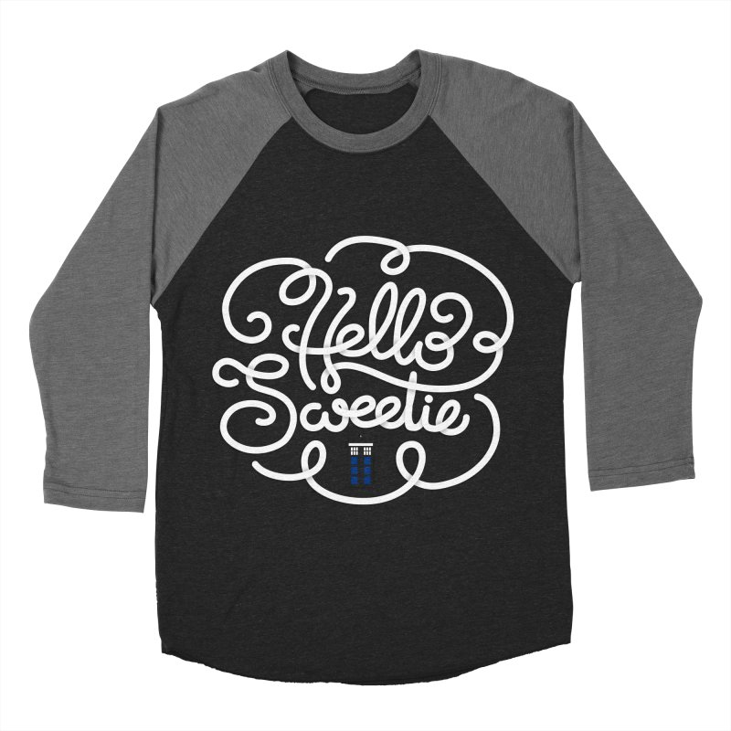 Hello Sweetie Women's Baseball Triblend T-Shirt by AlePresser's Artist Shop