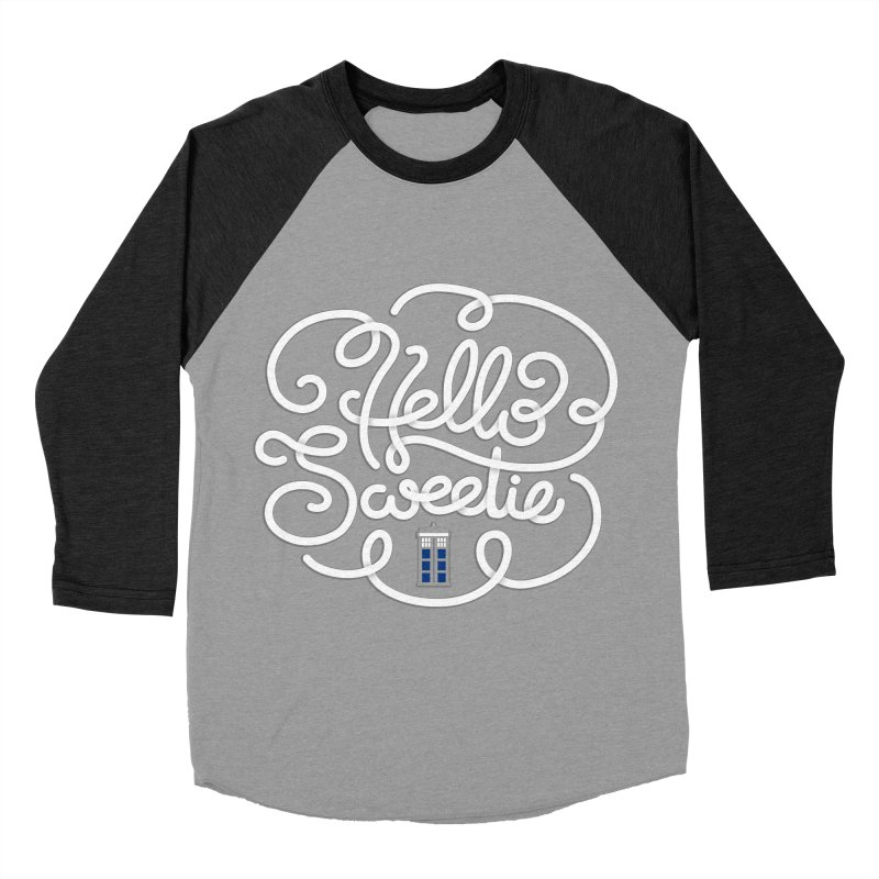 Hello Sweetie Women's Baseball Triblend Longsleeve T-Shirt by AlePresser's Artist Shop