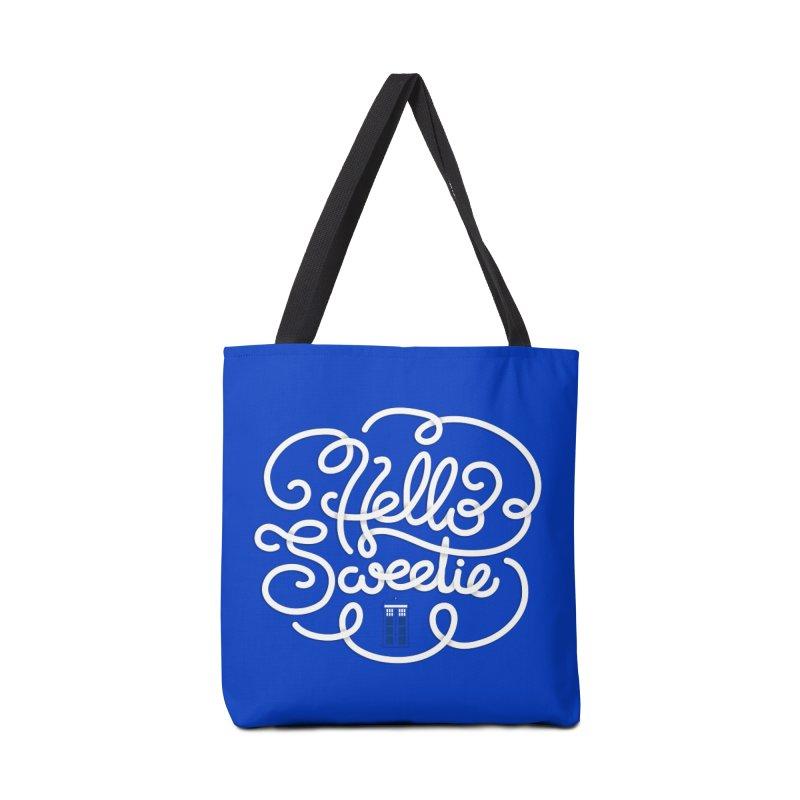 Hello Sweetie Accessories Bag by AlePresser's Artist Shop
