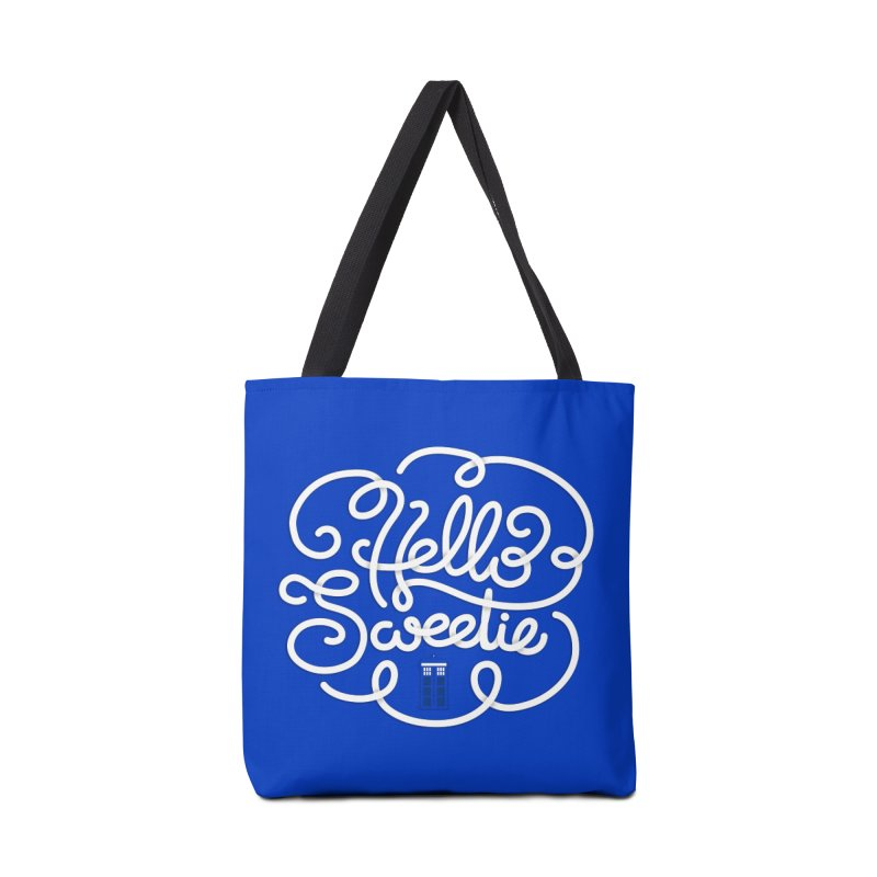 Hello Sweetie Accessories Bag by AlePresser's Artist Shop