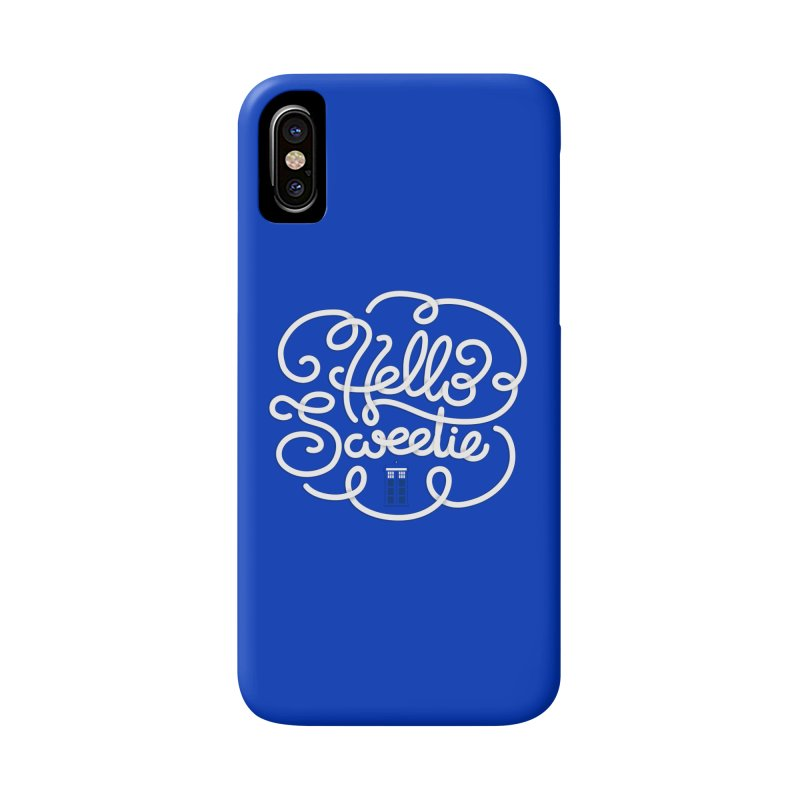 Hello Sweetie Accessories Phone Case by AlePresser's Artist Shop