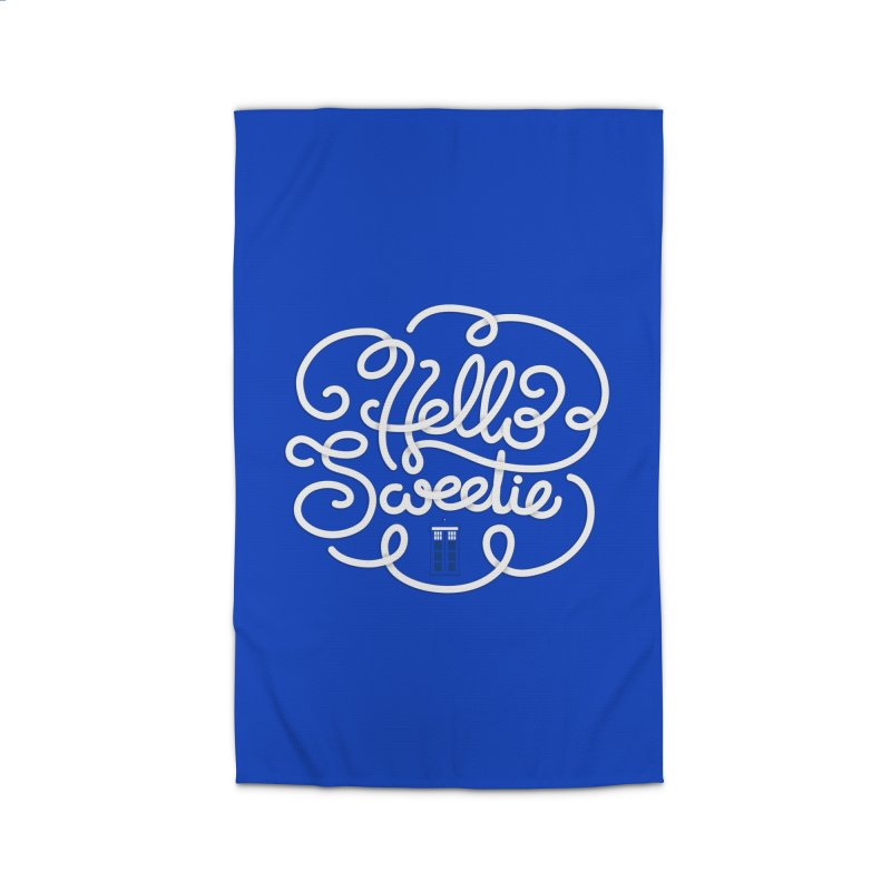 Hello Sweetie Home Rug by AlePresser's Artist Shop