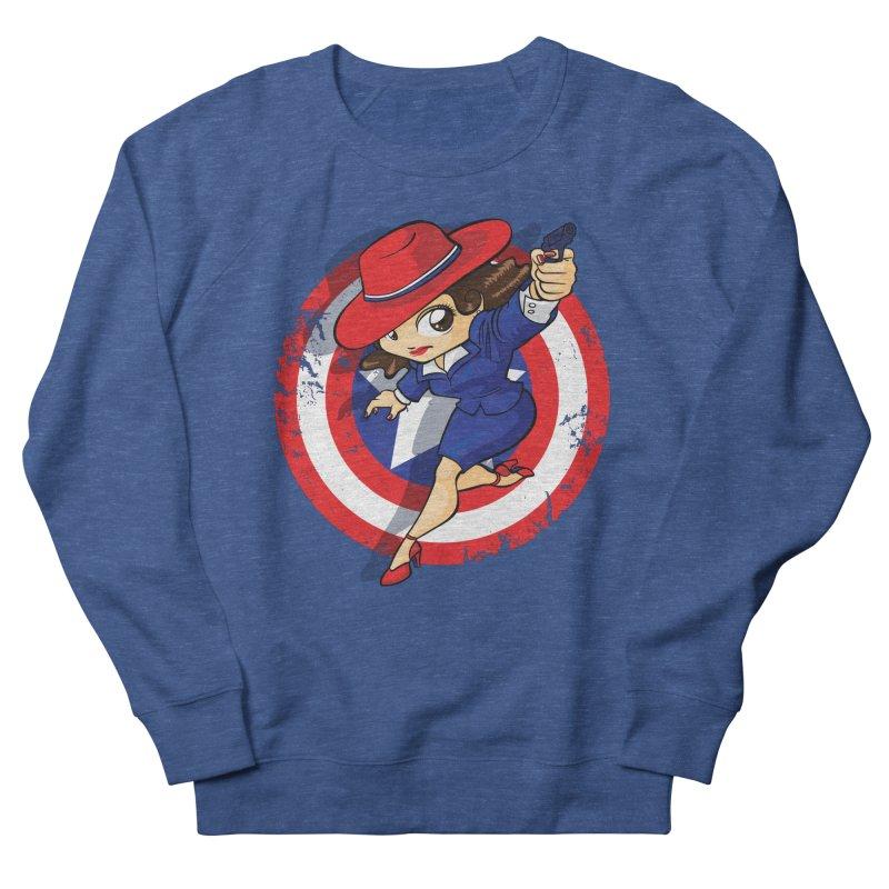 Peggy Carter Women's Sweatshirt by AlePresser's Artist Shop