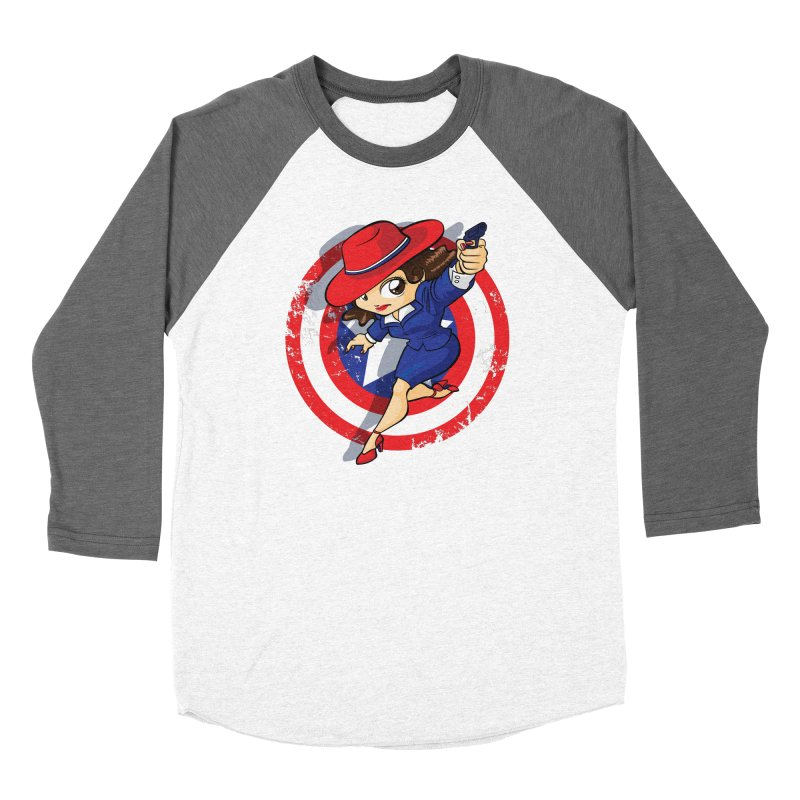 Peggy Carter Women's Longsleeve T-Shirt by AlePresser's Artist Shop