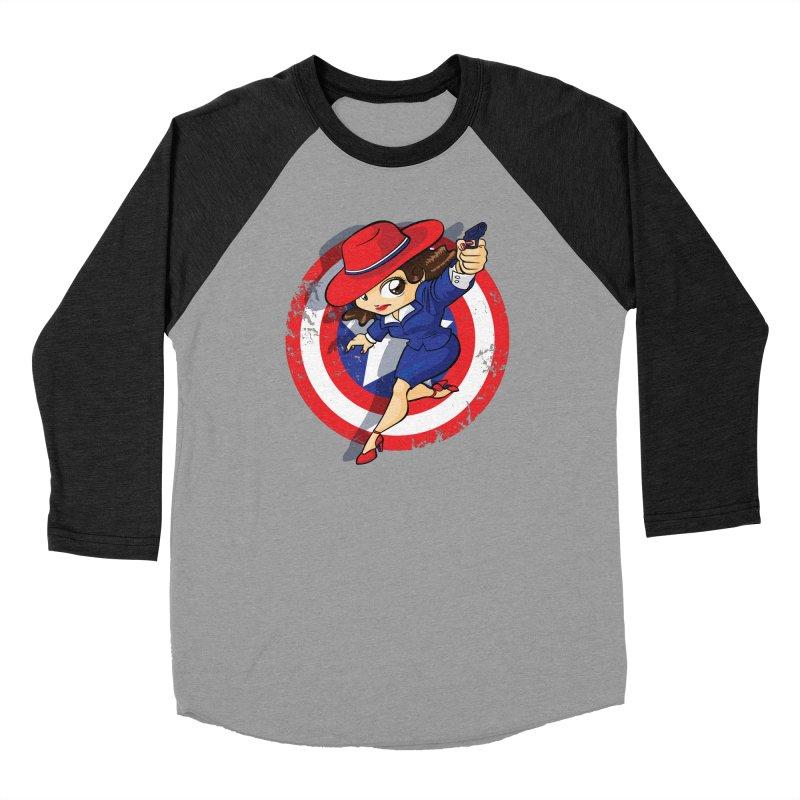 Peggy Carter Men's Baseball Triblend Longsleeve T-Shirt by AlePresser's Artist Shop