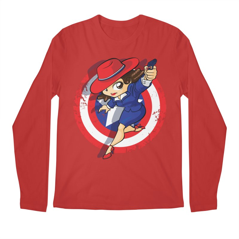 Peggy Carter Men's Regular Longsleeve T-Shirt by AlePresser's Artist Shop