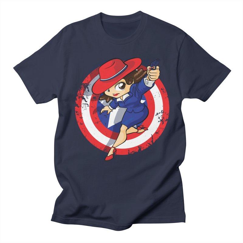 Peggy Carter Men's Regular T-Shirt by AlePresser's Artist Shop