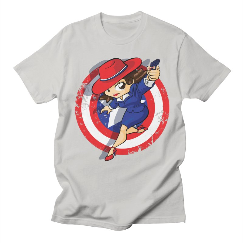 Peggy Carter Men's Regular T-Shirt by AlePresser's Artist Shop