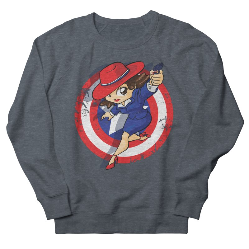 Peggy Carter Men's Sweatshirt by AlePresser's Artist Shop