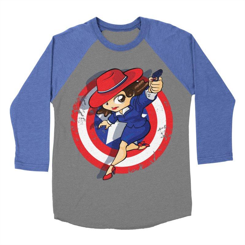 Peggy Carter Women's Baseball Triblend Longsleeve T-Shirt by AlePresser's Artist Shop