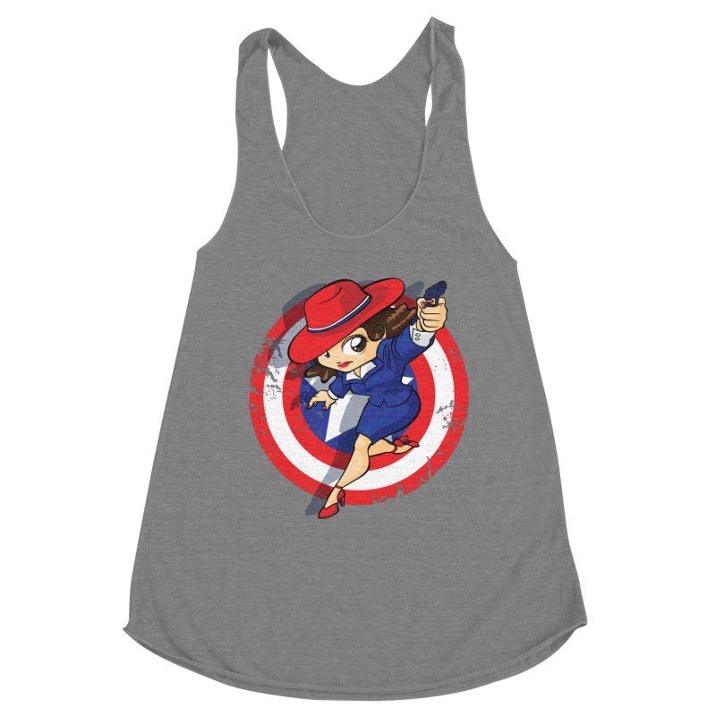 Peggy Carter Women's Tank by AlePresser's Artist Shop