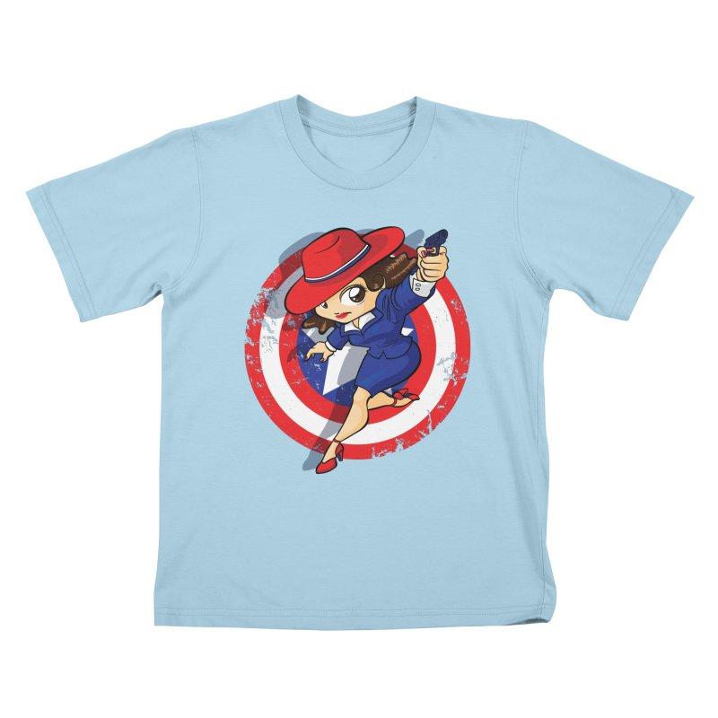 Peggy Carter Kids T-Shirt by AlePresser's Artist Shop
