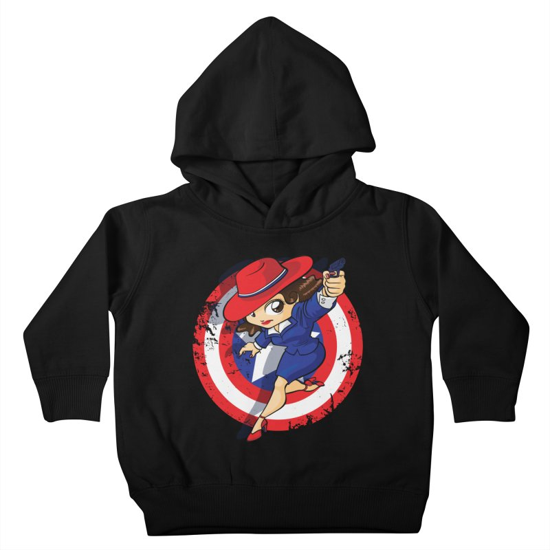 Peggy Carter Kids Toddler Pullover Hoody by AlePresser's Artist Shop