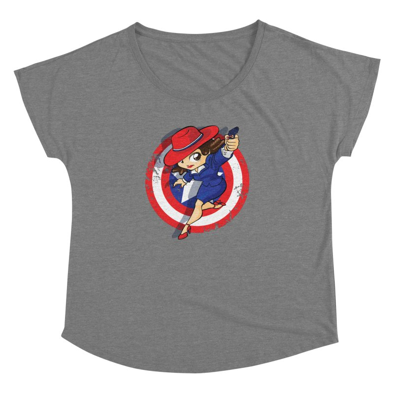 Peggy Carter Women's Dolman Scoop Neck by AlePresser's Artist Shop