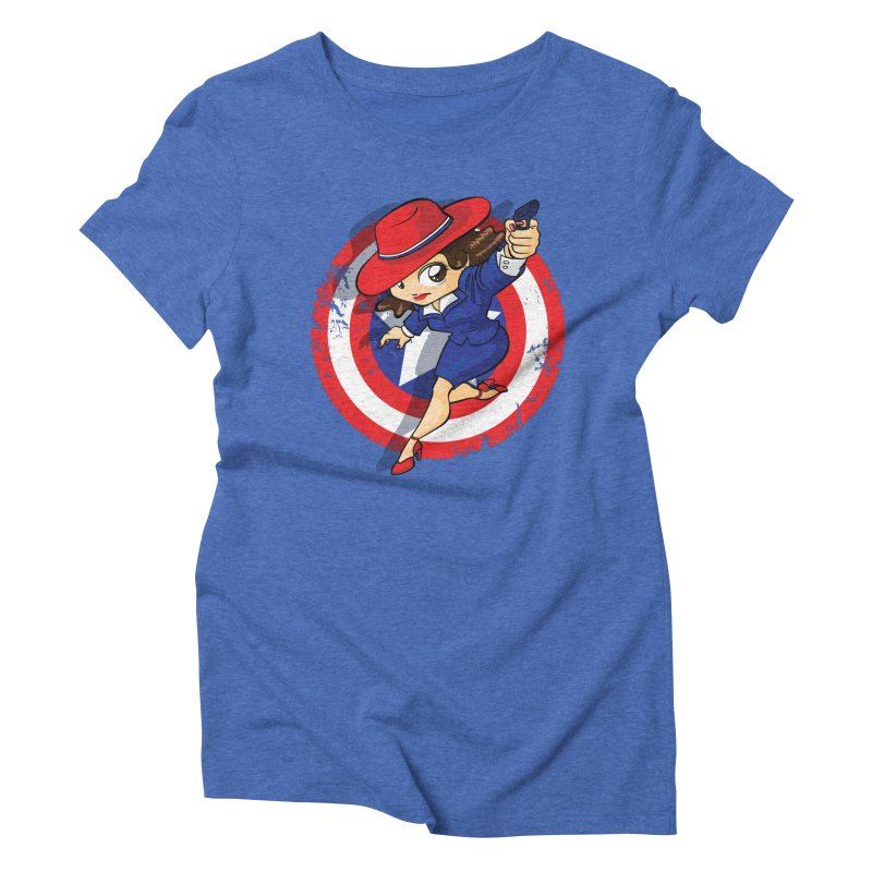Peggy Carter Women's Triblend T-shirt by AlePresser's Artist Shop
