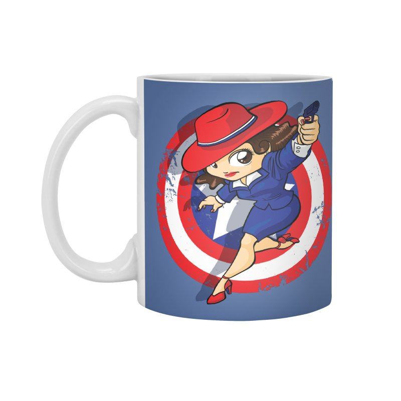 Peggy Carter Accessories Mug by AlePresser's Artist Shop