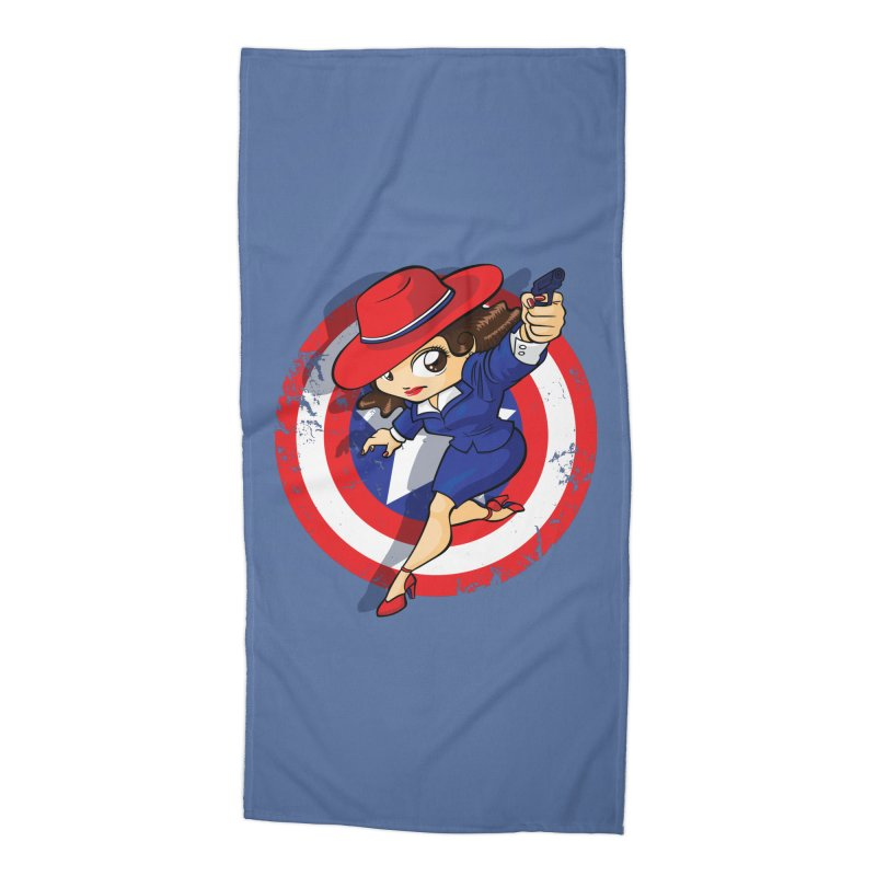 Peggy Carter Accessories Beach Towel by AlePresser's Artist Shop
