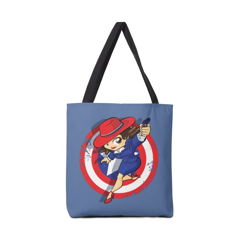 Peggy Carter Accessories Bag by AlePresser's Artist Shop