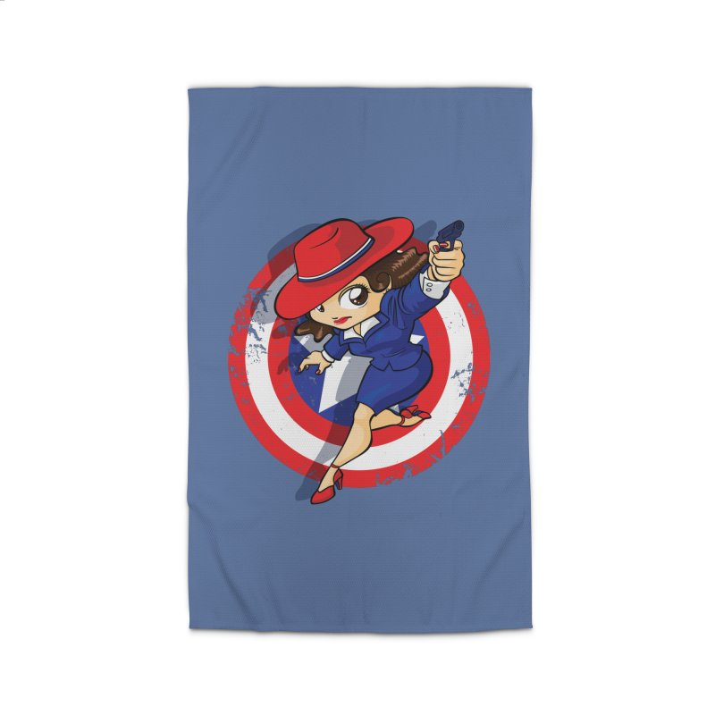 Peggy Carter Home Rug by AlePresser's Artist Shop