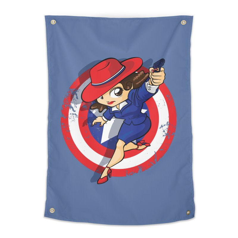 Peggy Carter Home Tapestry by AlePresser's Artist Shop