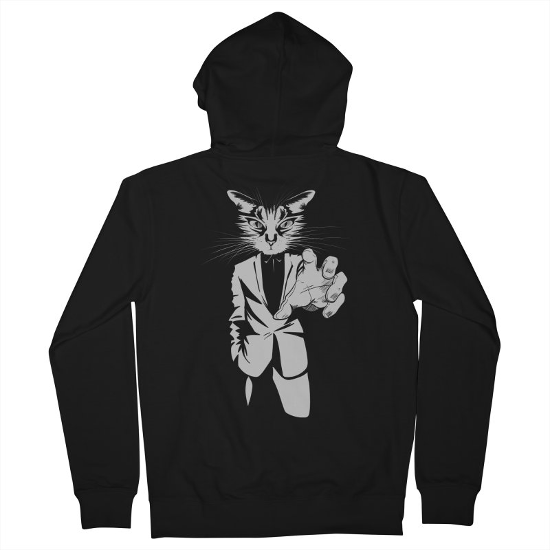The Cat Women's Zip-Up Hoody by AlePresser's Artist Shop