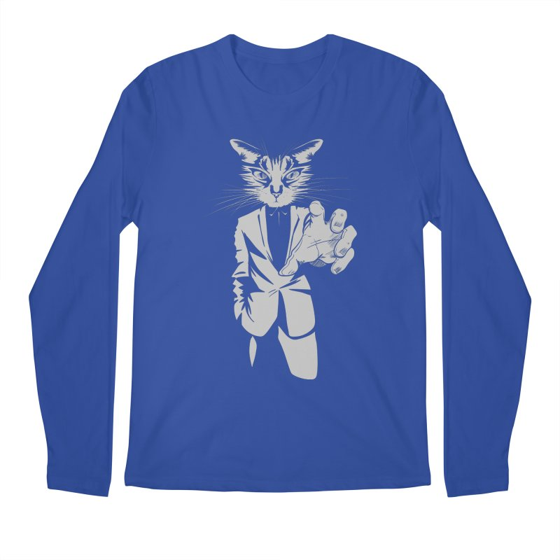 The Cat Men's Regular Longsleeve T-Shirt by AlePresser's Artist Shop