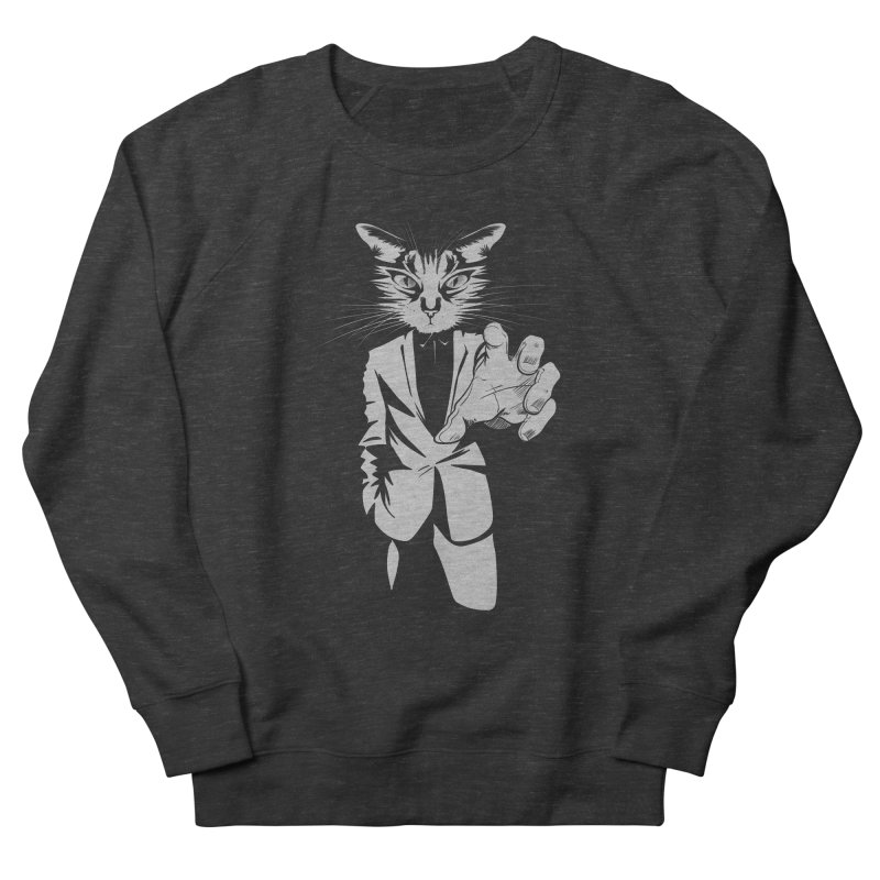 The Cat Women's Sweatshirt by AlePresser's Artist Shop