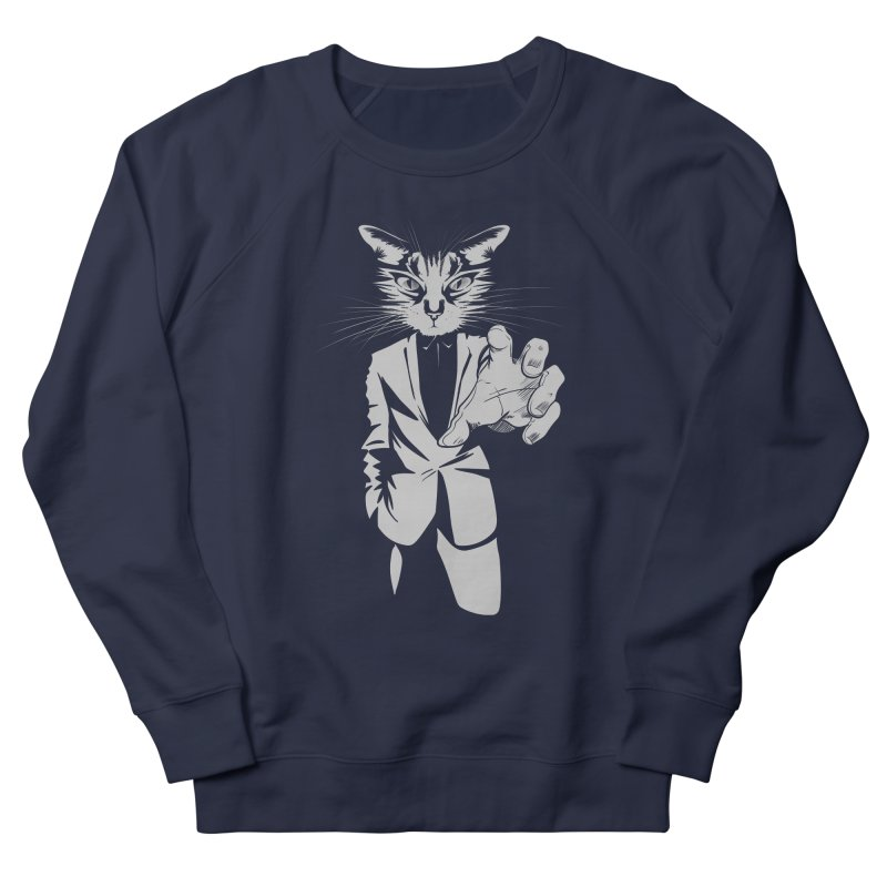 The Cat Men's Sweatshirt by AlePresser's Artist Shop