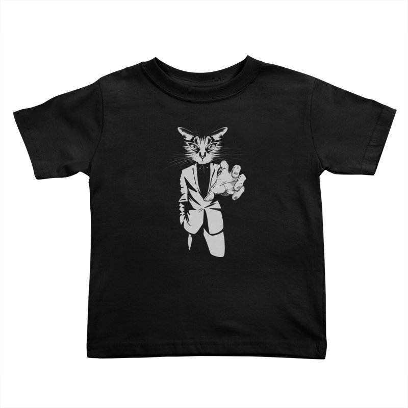 The Cat Kids Toddler T-Shirt by AlePresser's Artist Shop