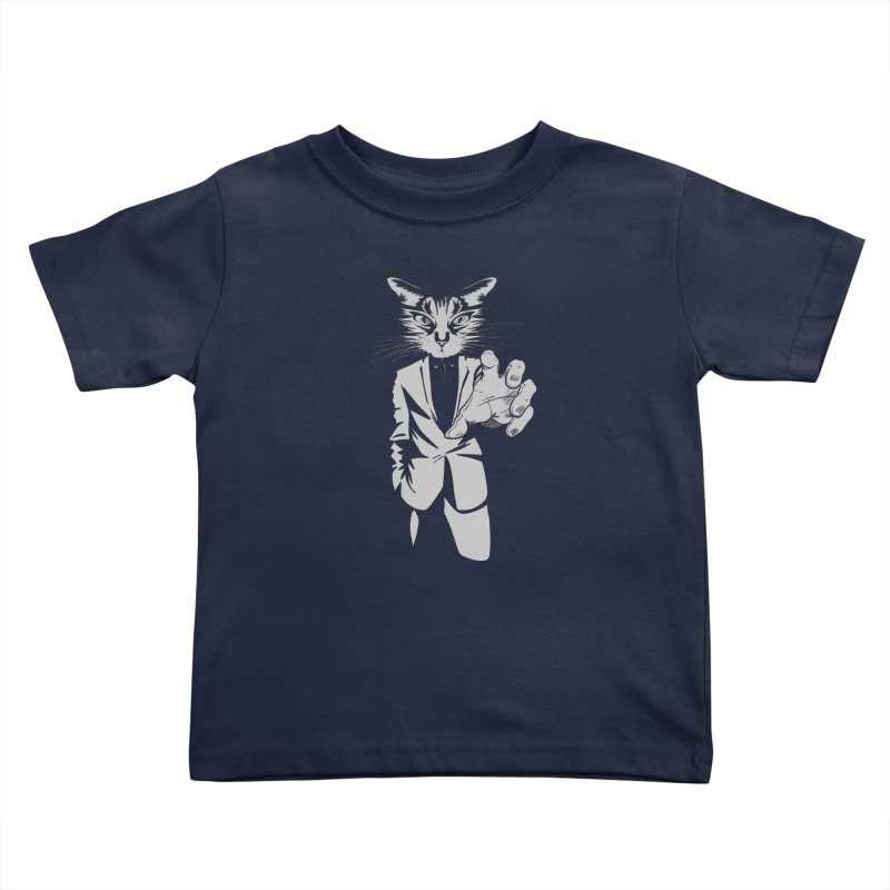 The Cat Kids Toddler T-Shirt by AlePresser's Artist Shop