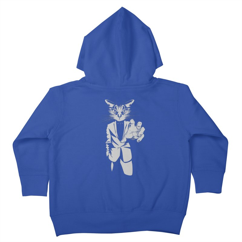 The Cat Kids Toddler Zip-Up Hoody by AlePresser's Artist Shop