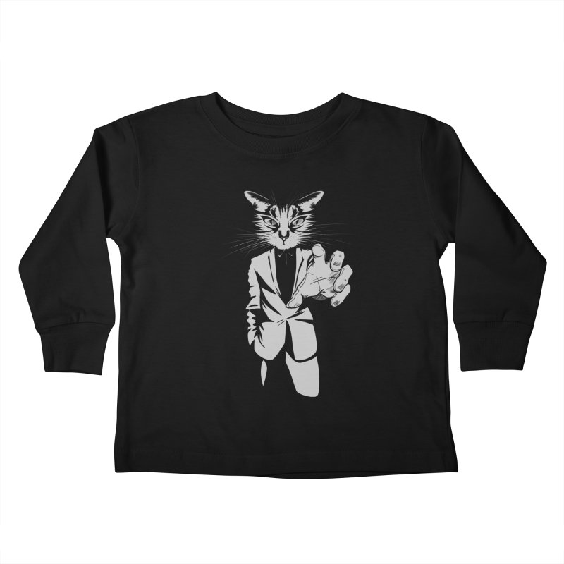 The Cat Kids Toddler Longsleeve T-Shirt by AlePresser's Artist Shop
