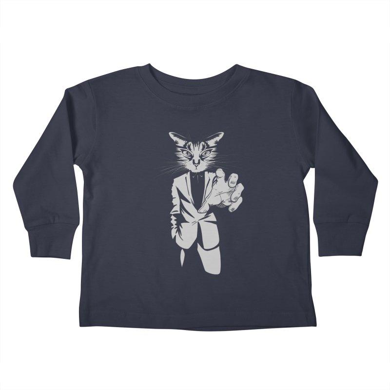 The Cat Kids Toddler Longsleeve T-Shirt by AlePresser's Artist Shop