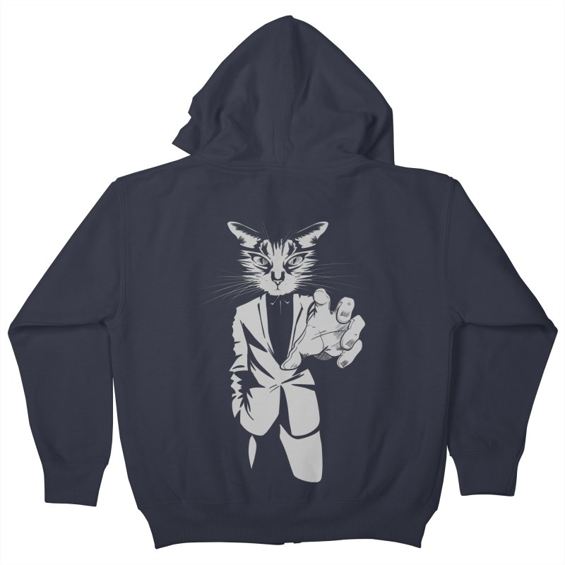 The Cat Kids Zip-Up Hoody by AlePresser's Artist Shop