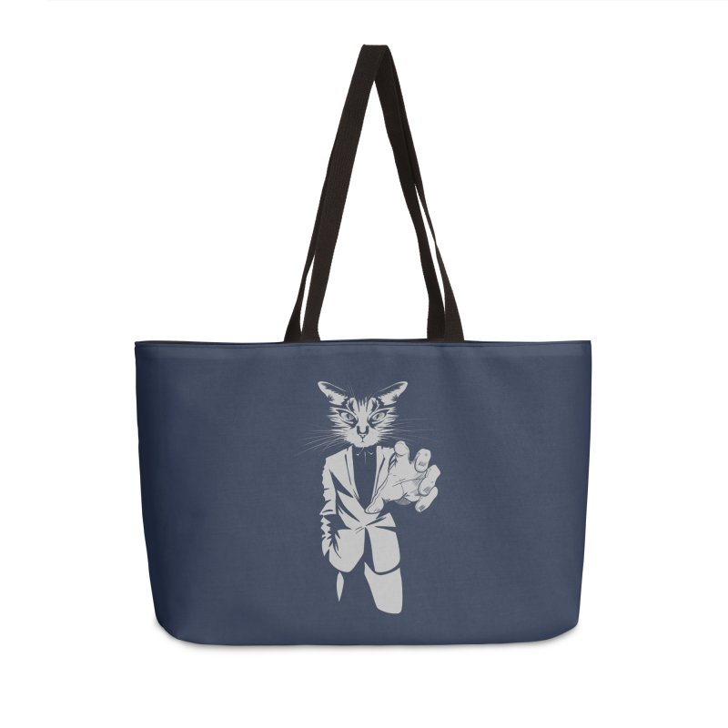 The Cat Accessories Weekender Bag Bag by AlePresser's Artist Shop