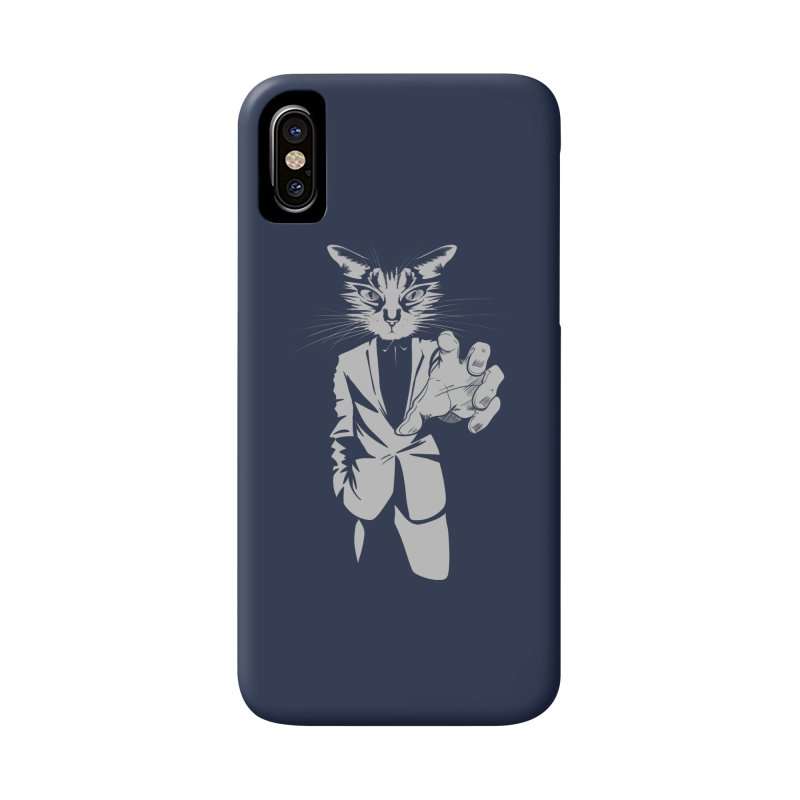 The Cat Accessories Phone Case by AlePresser's Artist Shop