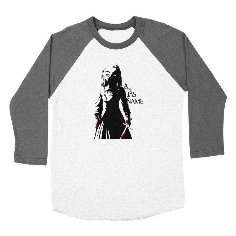 A Girl has a Name Women's Baseball Triblend Longsleeve T-Shirt by AlePresser's Artist Shop
