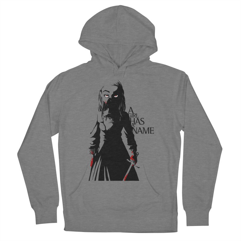 A Girl has a Name Men's French Terry Pullover Hoody by AlePresser's Artist Shop
