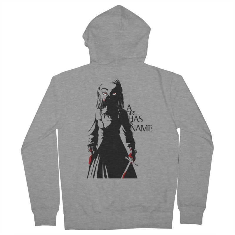 A Girl has a Name Women's French Terry Zip-Up Hoody by AlePresser's Artist Shop