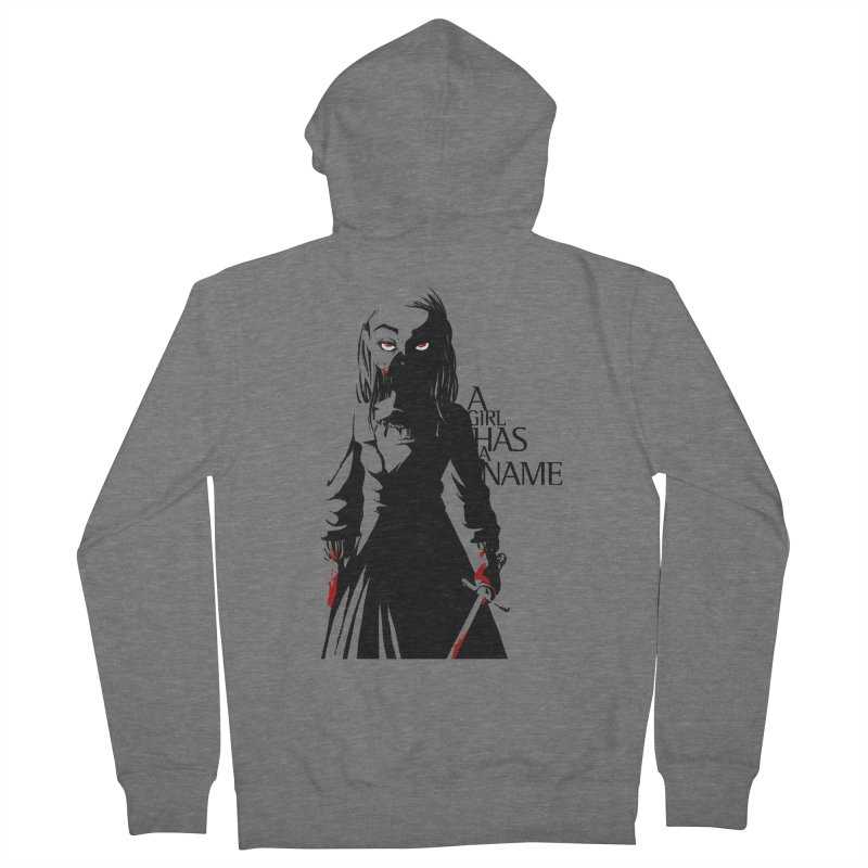 A Girl has a Name Men's French Terry Zip-Up Hoody by AlePresser's Artist Shop