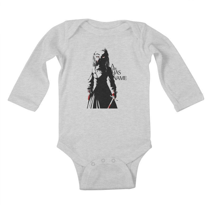 A Girl has a Name Kids Baby Longsleeve Bodysuit by AlePresser's Artist Shop