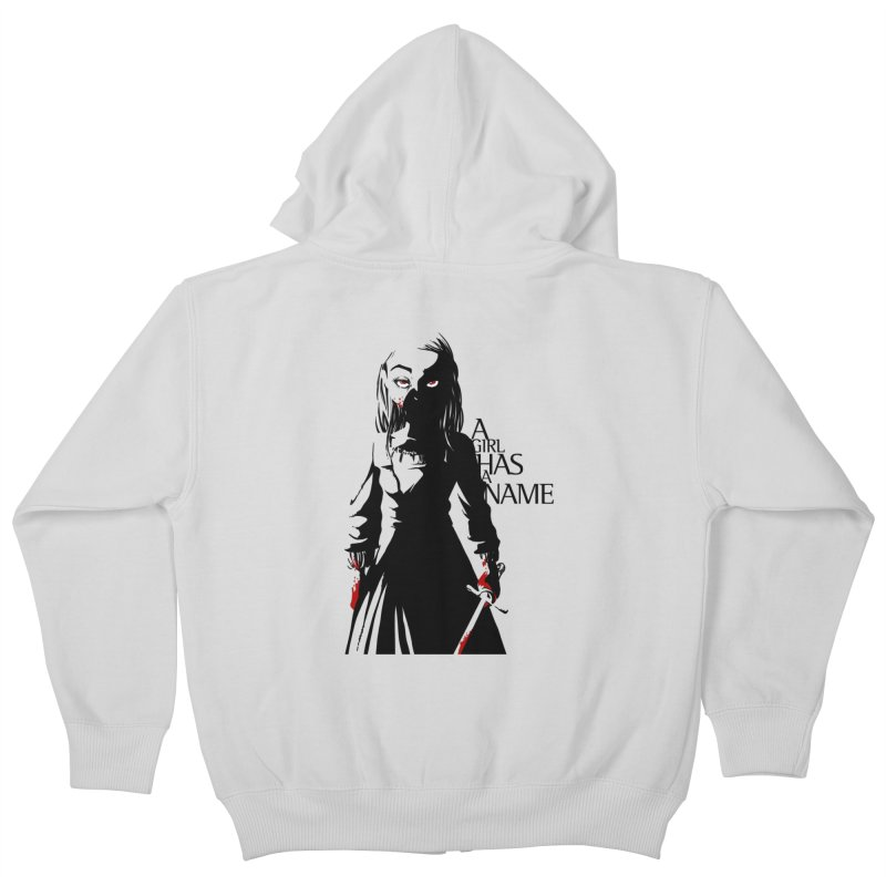 A Girl has a Name Kids Zip-Up Hoody by AlePresser's Artist Shop