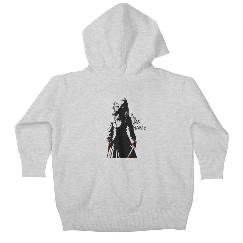 A Girl has a Name Kids Baby Zip-Up Hoody by AlePresser's Artist Shop
