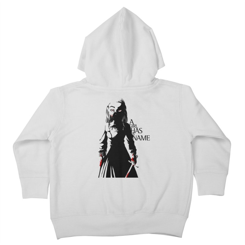 A Girl has a Name Kids Toddler Zip-Up Hoody by AlePresser's Artist Shop