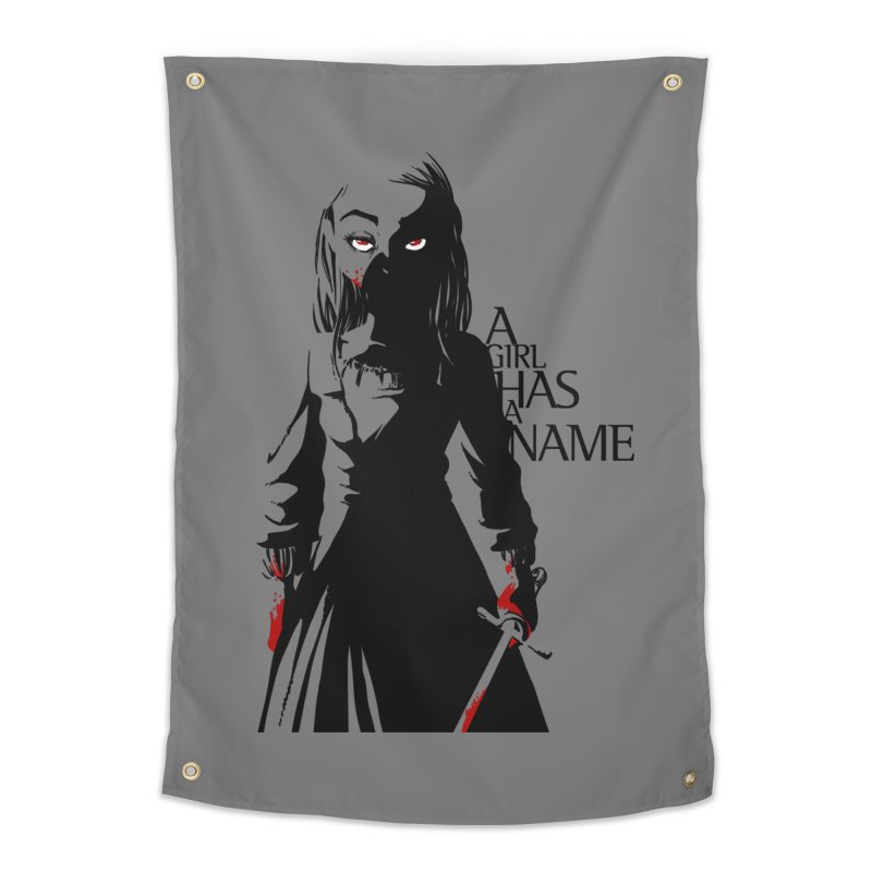 A Girl has a Name Home Tapestry by AlePresser's Artist Shop