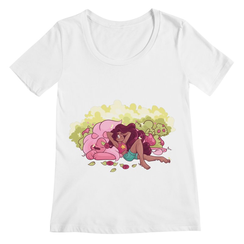 Stevonnie Women's Regular Scoop Neck by AlePresser's Artist Shop