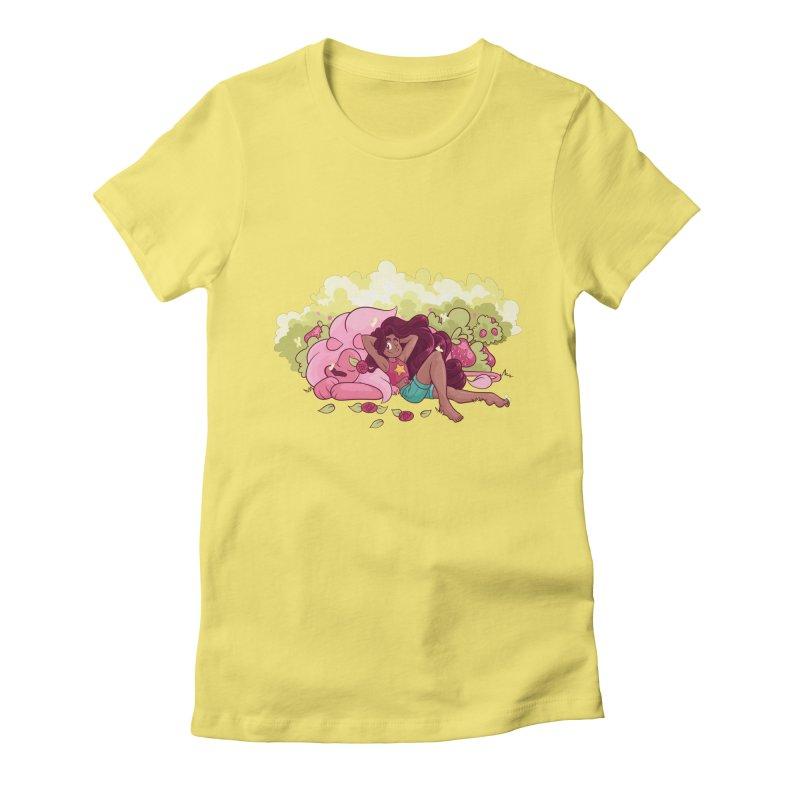 Stevonnie Women's Fitted T-Shirt by AlePresser's Artist Shop
